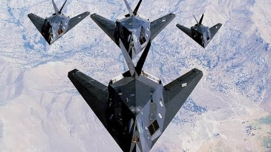 The F117A Nighthawk stealth fighter attack aircraft was developed by Lockheed Martin after work on stealth technology and the predecessor test demonstrator aircraft