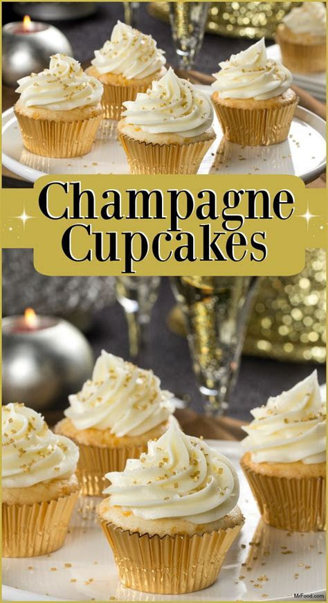 Champagne Cupcakes   Recipe   Happy New Year!   Champagne