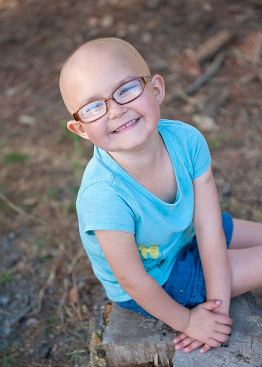 Doing it Her Way: Annie's Story | St. Baldrick's Blog | Childhood Cancer Stories & Research