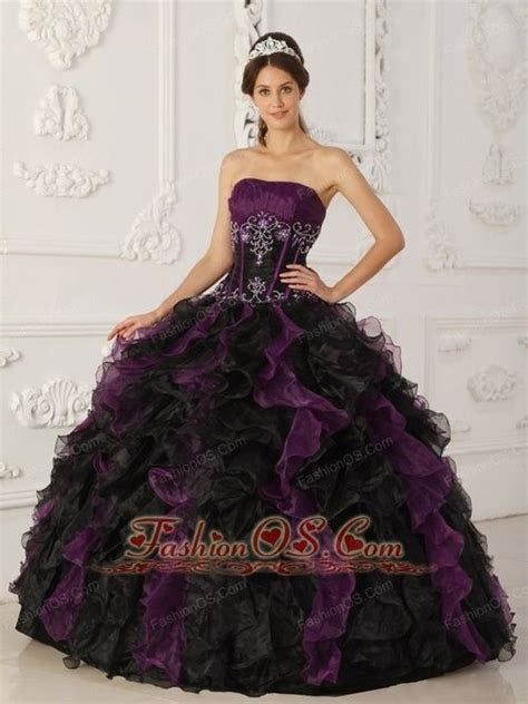 black and purple dress   Brand new purple and black