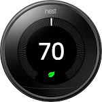 Google - Nest Learning Smart Thermostat - 3rd Generation - Black