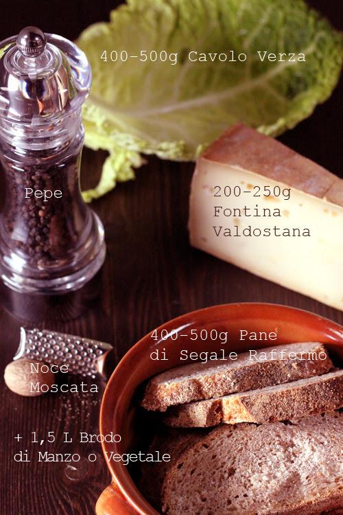 Ingredienti Zuppa Valpellinese