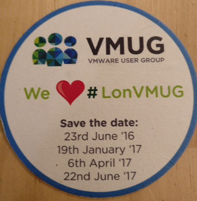 LONDON VMUG JANUARY 2017 | FUTURE DATES