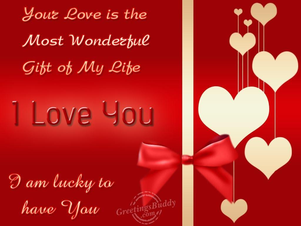 I Am Lucky To Have You Greetingsbuddycom