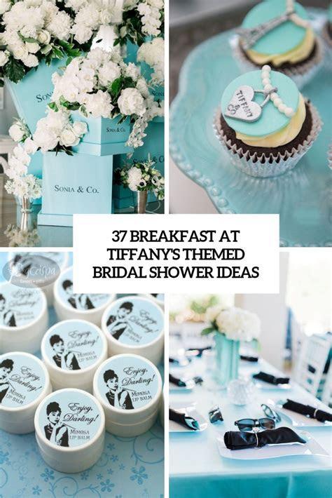 37 Breakfast At Tiffany?s Themed Bridal Shower Ideas
