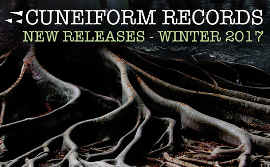 Cuneiform's New Releases for Winter 2017: New Music from The Microscopic Septet, The Ed Palermo Big Band, Chicago / London Underground and Thinking Plague