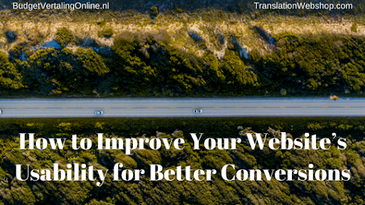 How to Improve Your Website's Usability for Better Conversions