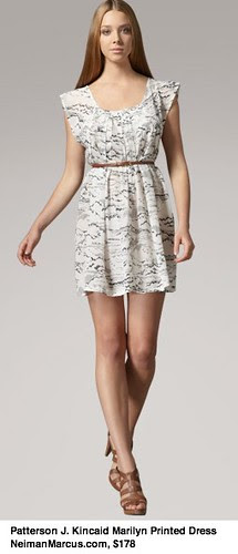 Patterson J. Kincaid Marilyn Printed Dress