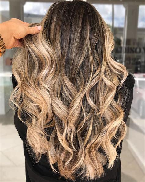couleurs de cheveux balayage inspiration pour