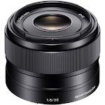 Sony E Mount 35mm f/1.8 OSS Lens