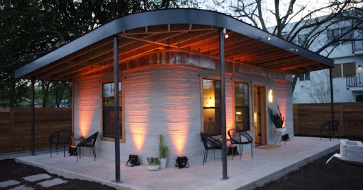 This cheap 3D-printed home is a start for the 1 billion who lack shelter