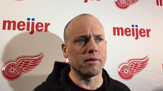 Red WIngs' Blashill on his usage of Martin Frk