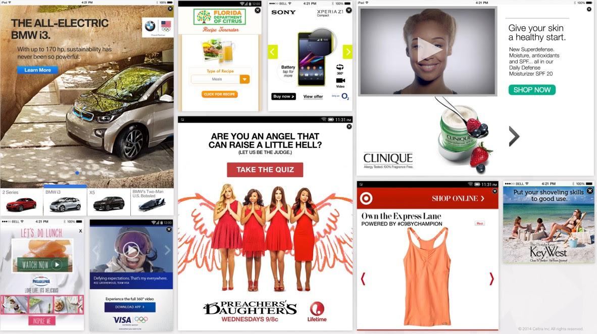 Celtra mobile ads
