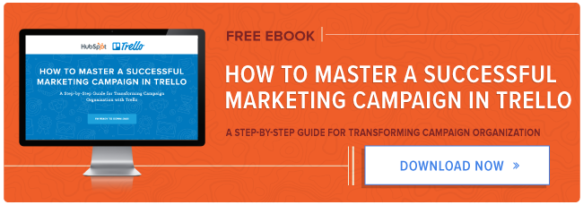 free guide: how to manage a marketing campaign in Trello