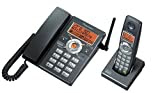 Pioneer デジタルコードレス留守番電話機 メタリックブラック セミ102タイプ TF-AD1500-K