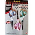 Scotch Precision Ultra Edge Scissor - 3 pack