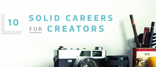Top 10 jobs for creative people