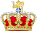 Heraldic crown of the King of Norway.svg