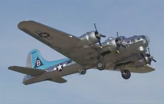 "Manned, 1/3 Scale B-17 ""Bally's Bomber"" to Attend AirVenture 2018"