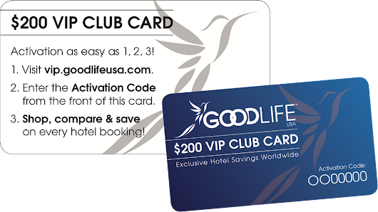 $200 VIP Club Card PACK OF (50)