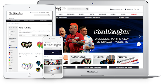 Red Dragon Darts | Magento Ecommerce Project | Digital Six®