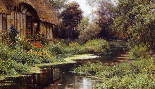 The painter of pretty Normandy; Louis Aston Knight – Picture post! – Normandy Then and Now