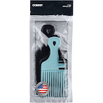 Conair Picks Made in The USA - 3pc, Multi-colored