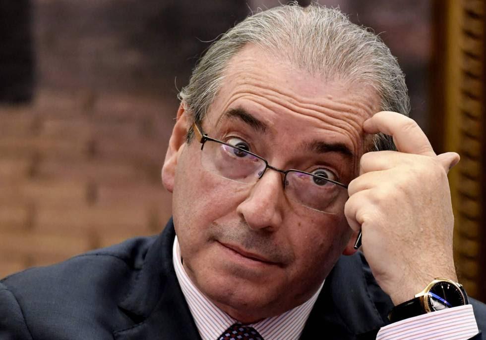 O ex-presidente da Câmara Eduardo Cunha