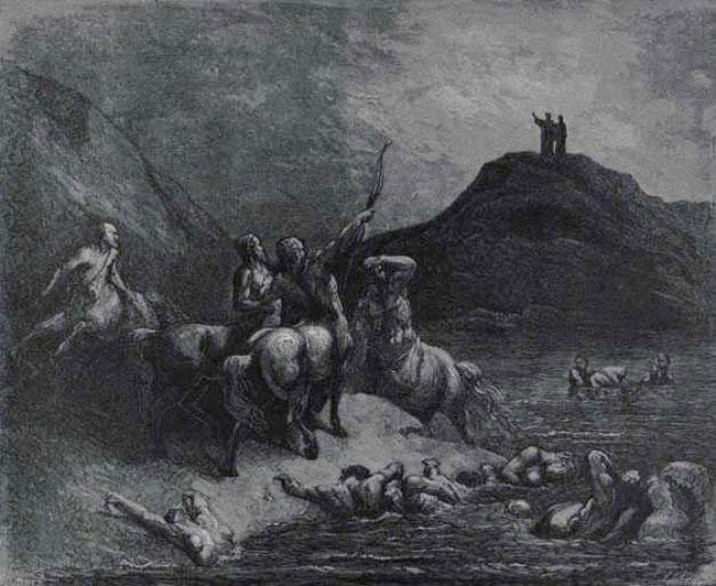 Doré, Centaurs