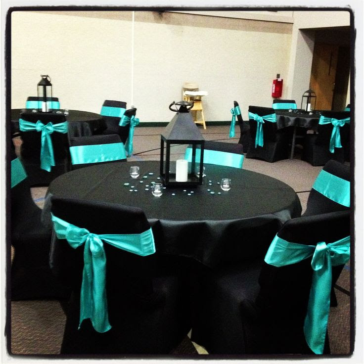 Teal Black And Silver Wedding Decorations  from lh3.googleusercontent.com
