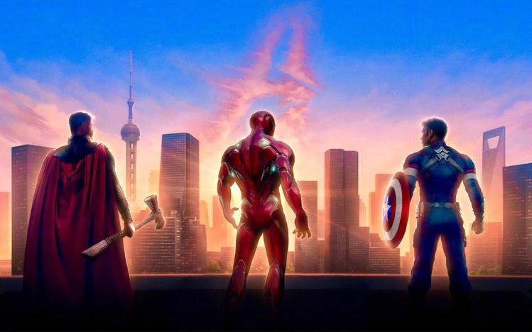 Avengers: Endgame Windows 10 Theme - themepack.me