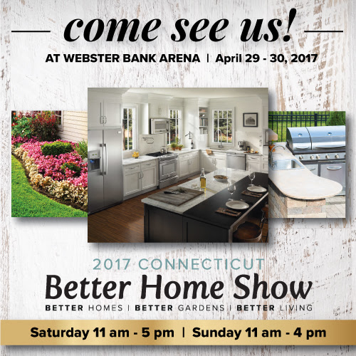 Come See Us At The Better Home Show 2017 At Webster Bank Arena 4/29 - 4/30 - Mono-Crete Step, LLC