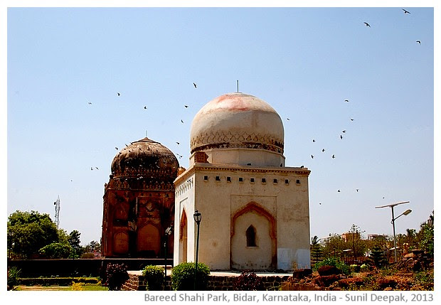 Barid Shahi park and tombs, Bidar, Karnataka, India - images by Sunil Deepak
