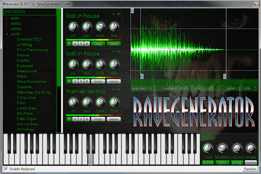 Rave Generator 2 VST / AudioUnit : the stab machine is back in the house ! | Blogosaur