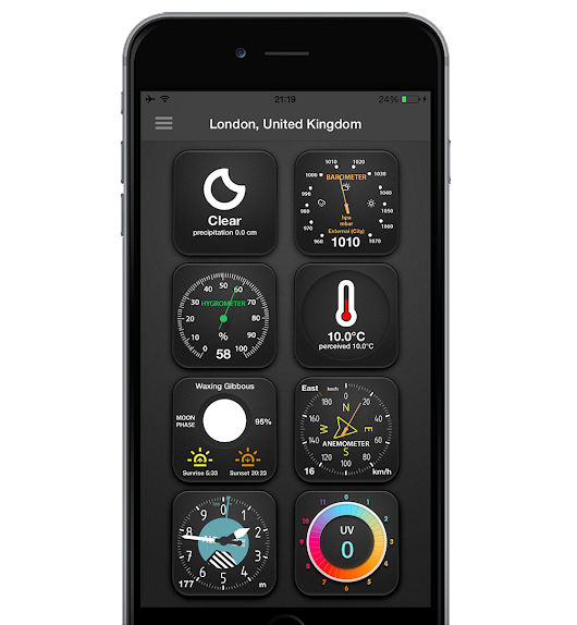 LionsApp - iPhone - The Weather Station