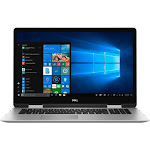 """Dell - Inspiron 2-in-1 17.3"""" Touch-Screen Laptop - Intel Core i7 - 16GB Memory - NVIDIA GeForce MX150 - 1TB Hard Drive - Silver"""