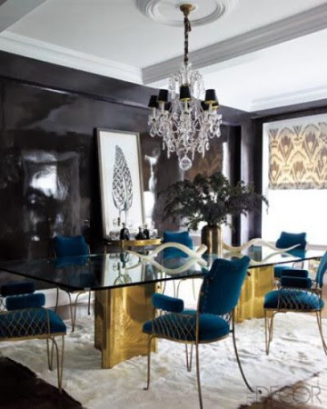 20 Luxury Dining Rooms With Gold Details