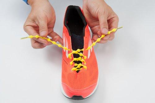 CATERPYRUN (キャタピラン) 結ばない靴紐 75cm チョコブラウン 75-7CB