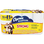 Charmin Essentials Strong Toilet Paper Rolls - 16 count