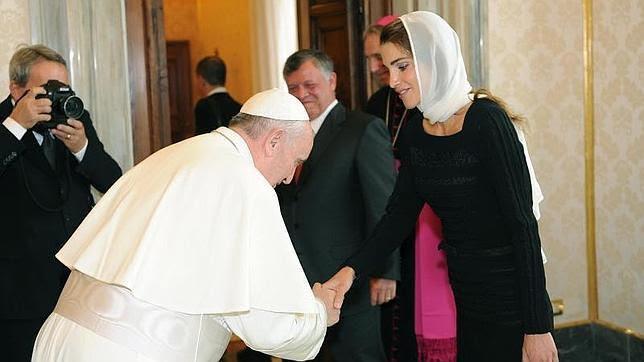 El Papa y Abdalá II consideran que el diálogo es la única opción en Siria