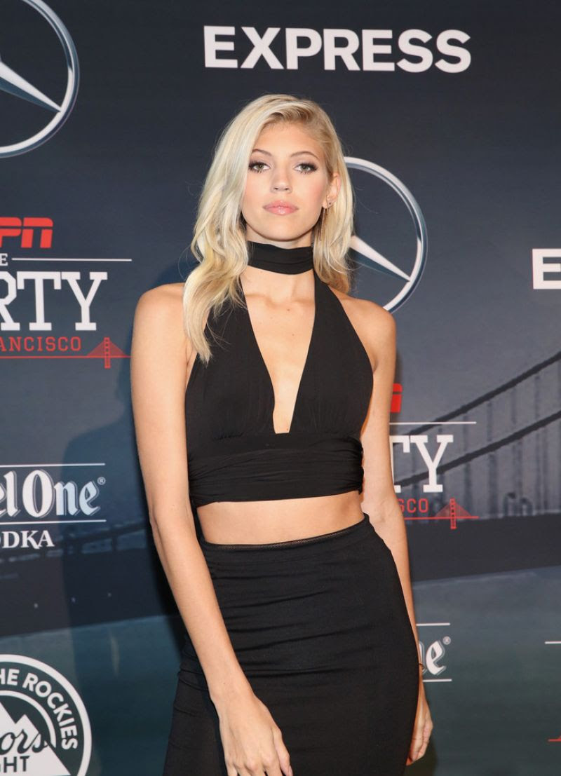 EVON WINDSOR at ESPN The Party in San Francisco 02/05/2016