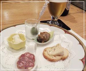 浅草橋「ステーキハウス柳鳳」にて、酒の肴のぴったりな前菜盛り合わせ♪