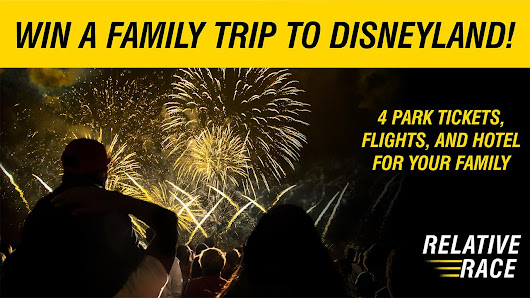 Relative Race Giveaway: A Family Trip to Disneyland! - BYUtv