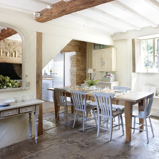 Dining area | Cotswold Farmhouse | House tour | PHOTO GALLERY | country homes & interiors | Housetohome.co.uk