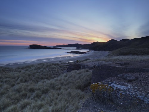 Oldshoremore sunset by Christopher Swan