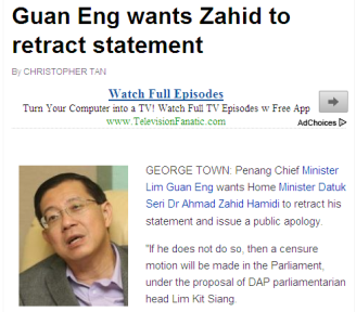 Guan Eng wants Zahid to retract statement - Nation The Star Online 2013-05-19 18-06-14