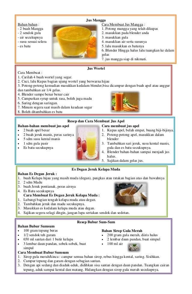 Contoh Teks Prosedur Membuat Minuman Segar : contoh, prosedur, membuat, minuman, segar, Contoh, Prosedur, Membuat, Minuman, Aneka, Macam