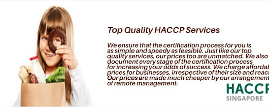 Top Quality HACCP Services