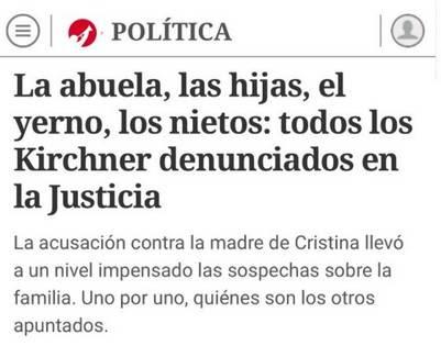 La nota de Clarín que enojó a CFK