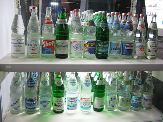 Germans Are the World's Most Discerning Seltzer Connoisseurs